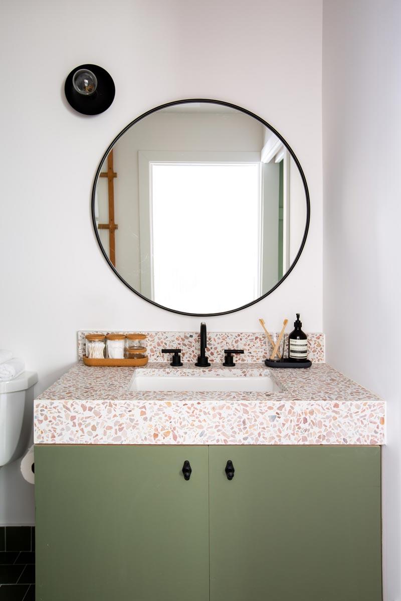 guest room bath vanity