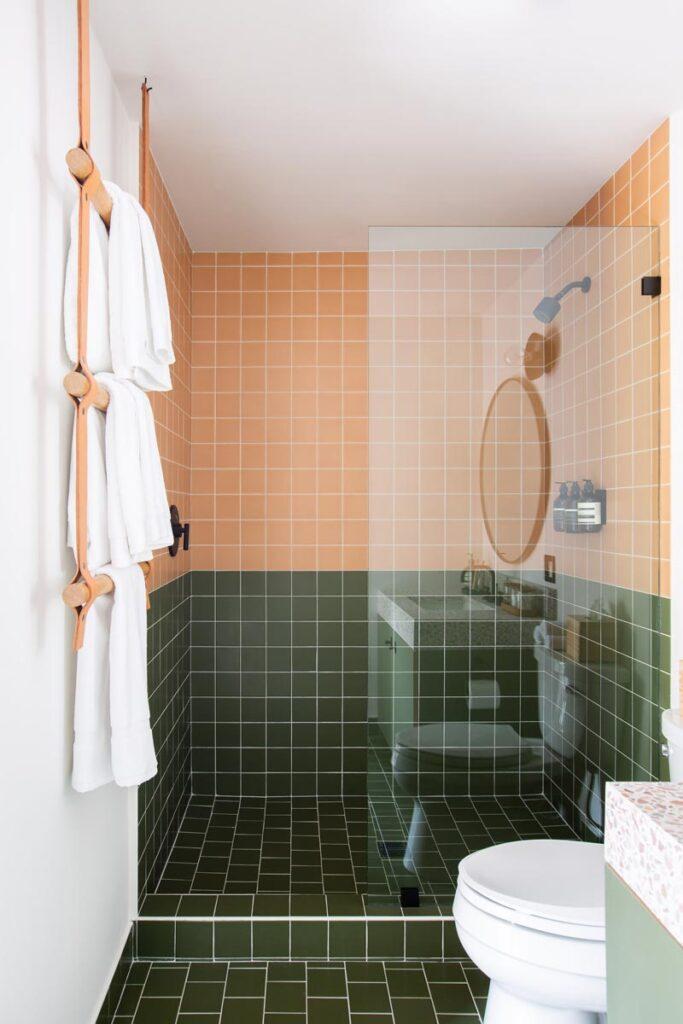 guest room shower